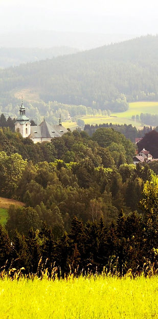 Typical countryside of Czechia