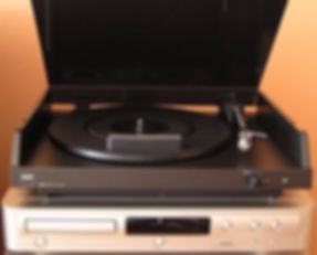 Legendary record player Tesla NC 470 (exported as NAD 5120 and Lenco L-802) - from 1985-87, Czechia
