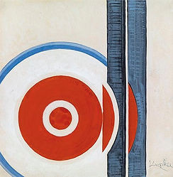 František Kupka - Circles and lines (art of Czechia)