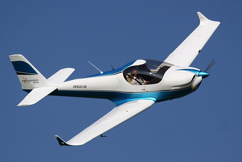 KP-2U Skyleader (Kappa 77 KP-2U Sova), two-seat civil utility aircraft designed in Czechia. It is a conventional low-wing monoplane featuring all-metal construction and tricycle undercarriage.