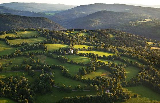 """Bohemian Forest"" landscape (West Bohemia), Czechia"
