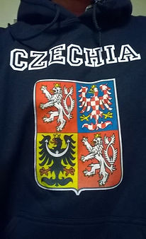 Czechia T-shirt blue