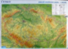 Czechia map - Česko mapa