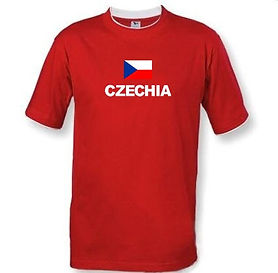 Czehia T-shirt flag