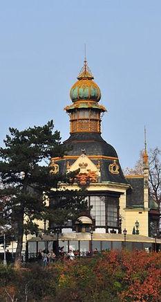 Hanava pavillon at Letná, Prague, Czechia
