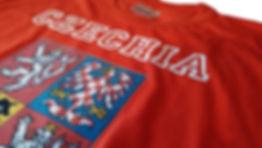 Czechia T-shirt red