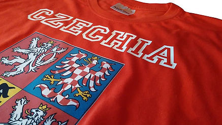 Czechia T-shirt red