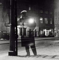 Vácalv Chochola - Night Walker (1946) art of Czechia