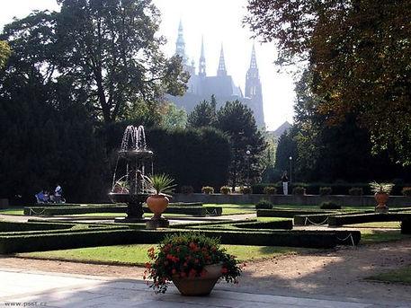Gardens of the castle - eastern part, Prague, Czechia
