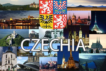 Czechia postcard