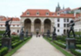 Wallenstein Pallace in Prague, Czechia