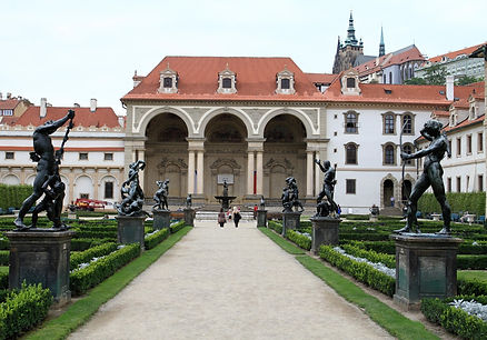 Wallenstein Pallace in Prague, Czechia