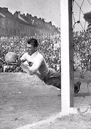 Goalkeeper František Plánička