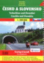 Road atlas Czechia & Slovakia
