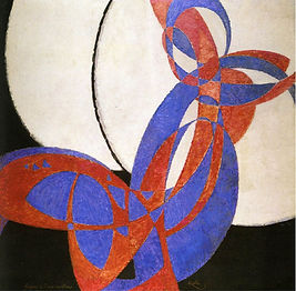 František Kupka : Amorpha - Fugue en deux couleurs (1912) art of Czechia