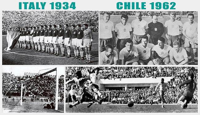 Czechoslovakia finals of World Cup (1934 and 1962)