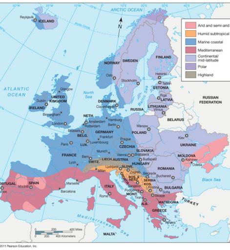 Czechia The Heart Of Europe Atlases Maps - Iceland latitude