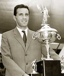 Ladislav Novák, captain of Dukla Praha with America Cup (1963)