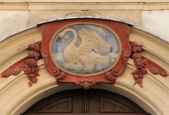 At the swan (U labutě), Prague, Czechia