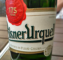 Pilsner Urquell - Brewed in Czechia
