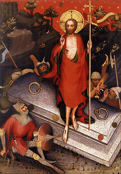 Resurrection by Master of Třeboň altarpiece - Czechia