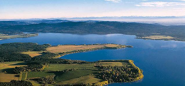 Lipno dam (South Bohemia), Czechia