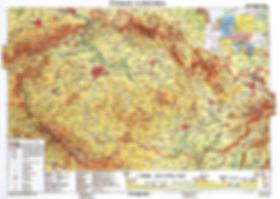 Česko / Czechia - political map