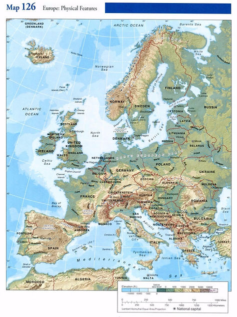 Student atlas Czechia