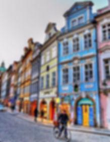 Mostecká street, Lesser Town, Prague, Czechia