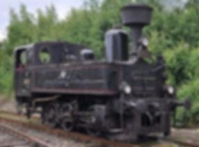 Locomotive 310.0 Kafemlejnek, produced by the First Bohemian-Moravian machine factory in Prague - Czechia
