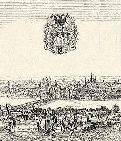 Prague in 17th century