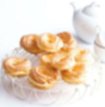 Věnečky - Czech cream puff with rum filling - Czechia