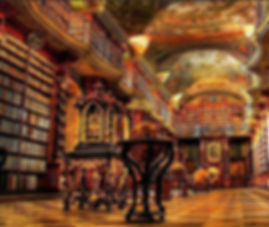 The Clementinum Baroque library, Prague, Czechia