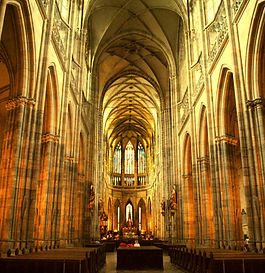 St.Vitus cathedral, Prague, Czechia