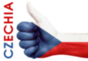 Czechia thumb up
