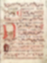 Czech hand-written Jistebnice hymn book from around 1430 music of Czechia