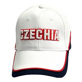 Czechia cap white