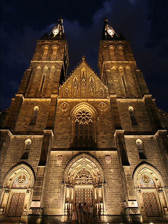 Cathedral of St.Peter and Paul at Vyšehrad, Prague, Czechia