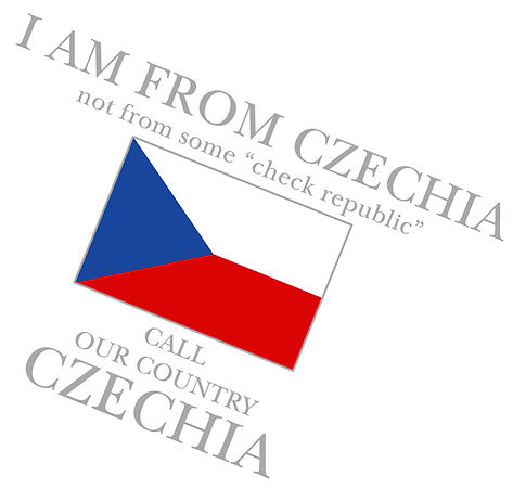 Call our country Czechia I am not from check republic