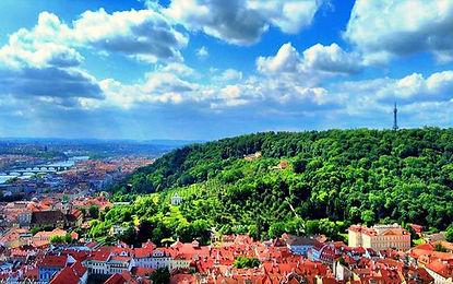 Petřín hill, part of Lesser town, Prague, Czechia