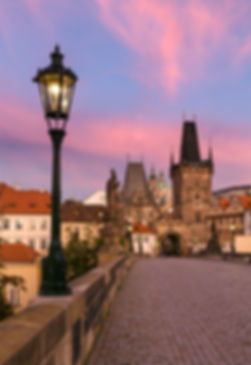 Lesser Town Tower of the Charles bridge, Prague, Czechia