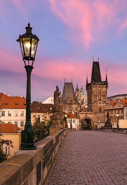 Lesser Town Tower of the Charles bridge, Prague, Czechia