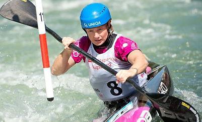Štěpánka Hilgertová - Olympic winner and World champion in kayak slalom