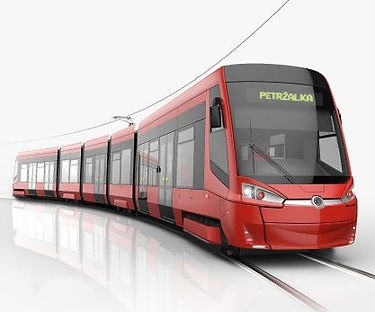Tram Škoda ForCity Plus Czechia