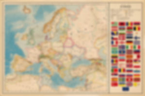 Europe and Czechia map