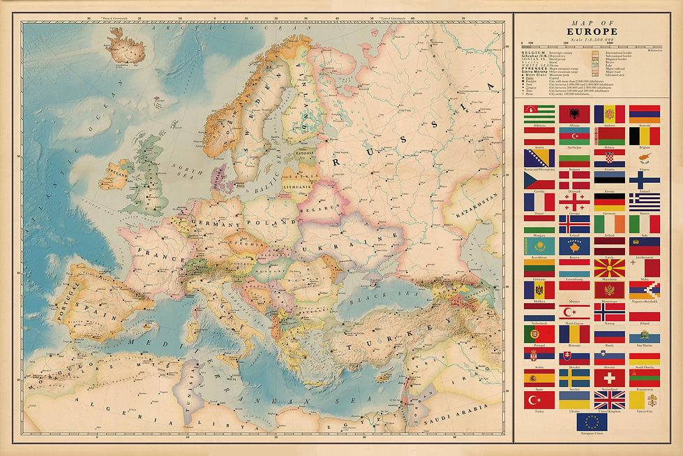 Europe and Czechia