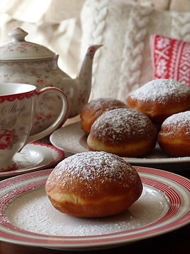 The magic of my home - Czech donuts