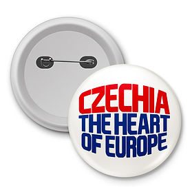 Czechia badge white