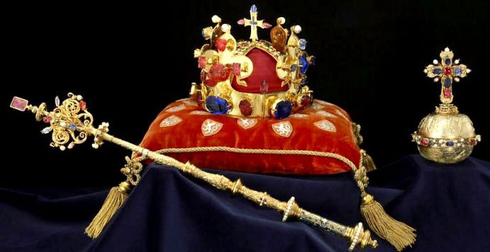 Czechia - coronation jewels of Kingdom of Bohemia