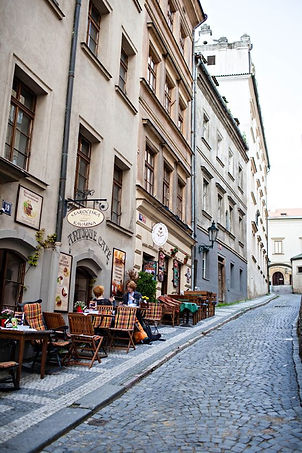 Lanes of Malá Strana, Prague, Czechia
